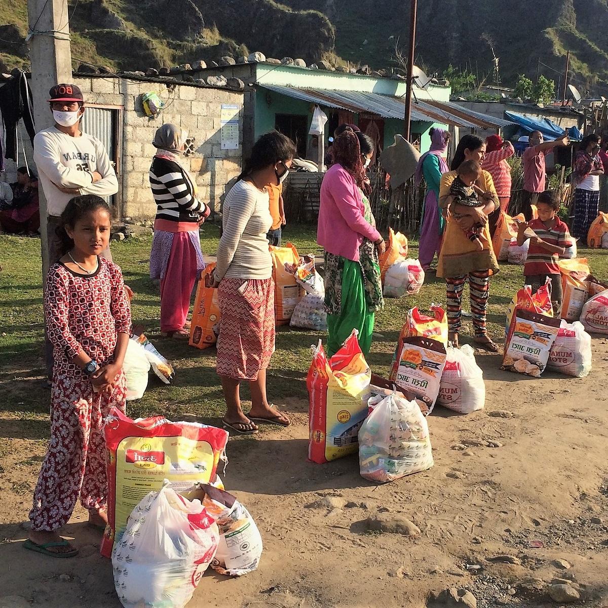 Corona-noodhulp Nepal